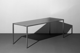 PLAN TABLE MONO / Stainless Steel